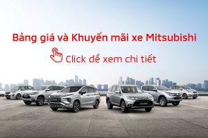Bảng giá xe Mitsubishi tháng 03/2019